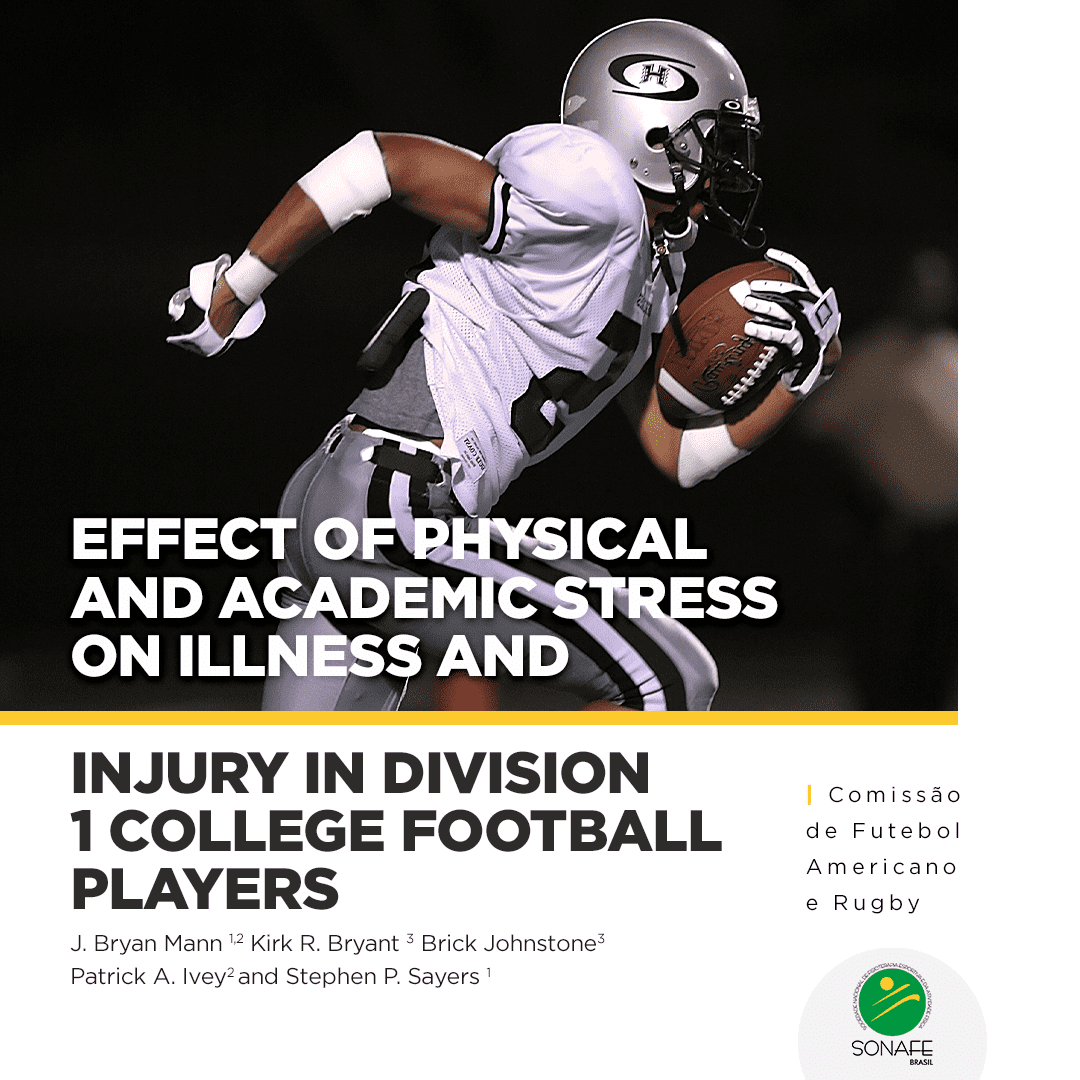 Effect of Physical And Academic Stress on Illness and Injury in Division 1 College Football Players